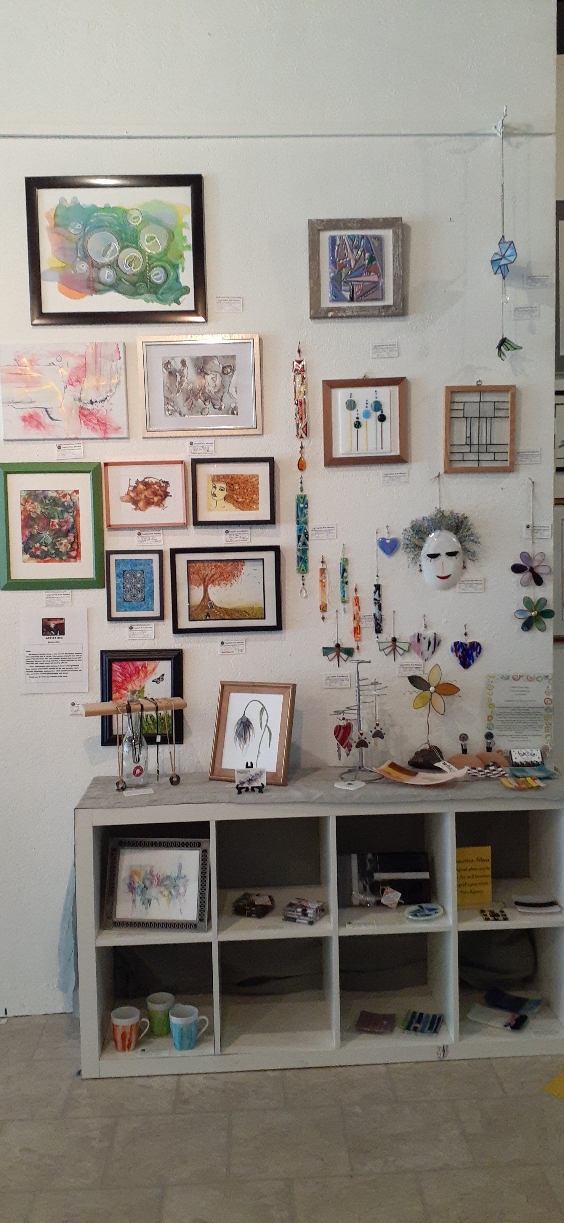 Works by Marilyn Grice and Ingrid Zyma-Irvin